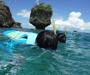 【沖縄旅行記】S1 EP10 万座ビーチでアクティビティ 六歳からのシュノーケル 下の句 サンゴ畑スノーケリング