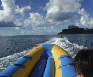 15【グアム】恐怖のバナナボート