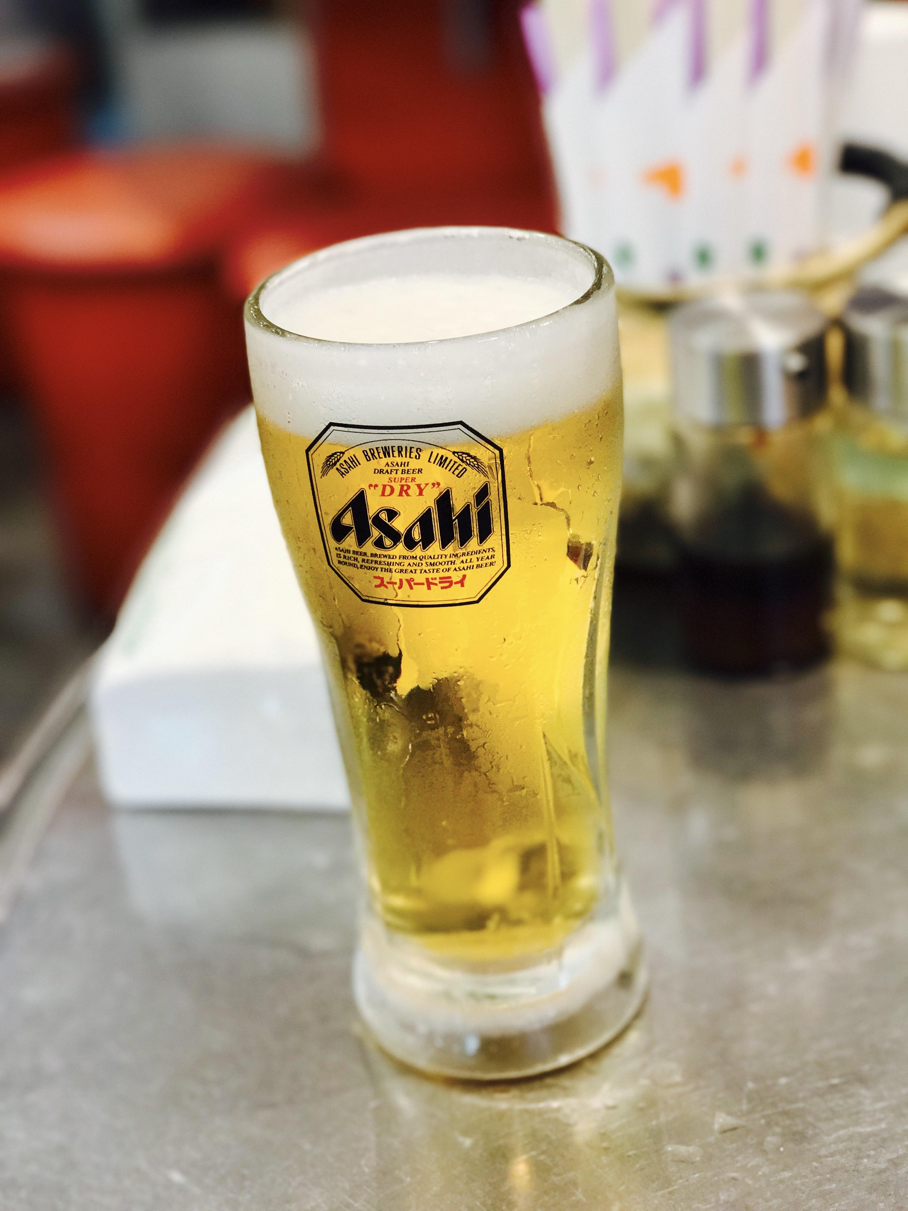 大阪 鶴橋コリアンタウンでビール