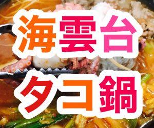 【海雲台】タコ鍋を食べる【前編】