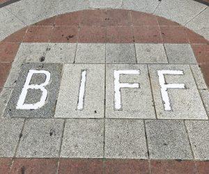 【釜山】BIFF広場でレジェンド映画人の手型を見る