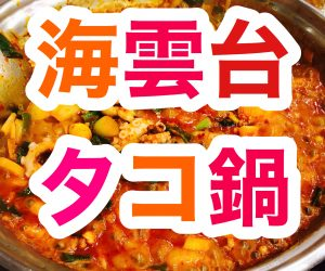 【海雲台】タコ鍋を食べる【後編】