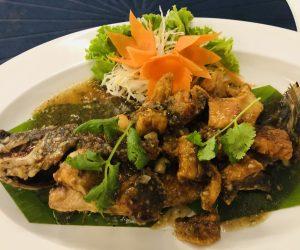 【クラビ旅行記】S6 E14 アオナンビーチのおすすめレストラン Ancora Blu Bistro and Bar 上の句 シーフード編