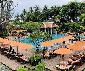 【バンコク・リバーサイド旅行記】S7 EP08 おすすめホテル アナンタラ・リバーサイド・バンコク・リゾートのプール